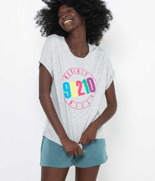 T-shirt homewear Beverly Hills femme offre à 7,99€