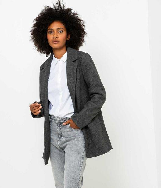 Manteau droit femme offre à 34,99€
