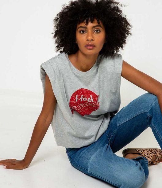 "T-shirt ""I FEEL GOOD"" femme offre à 10€"