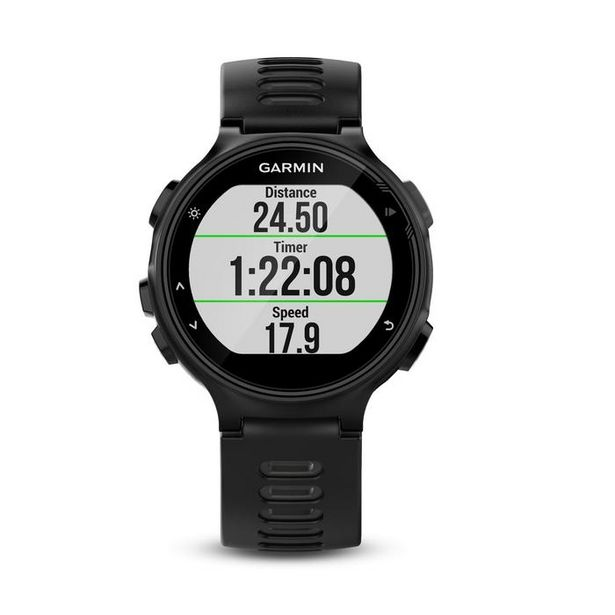 MONTRE GPS MULTISPORTS AVEC CARDIO POIGNET FORERUNNER 735 XT NOIRE offre à 159€