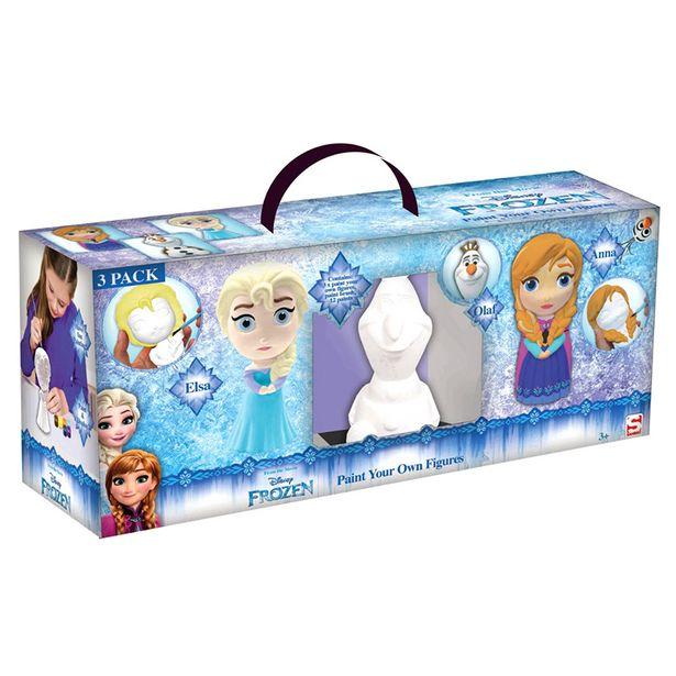 Kit creatif reine des neiges 3pc offre à 12,99€