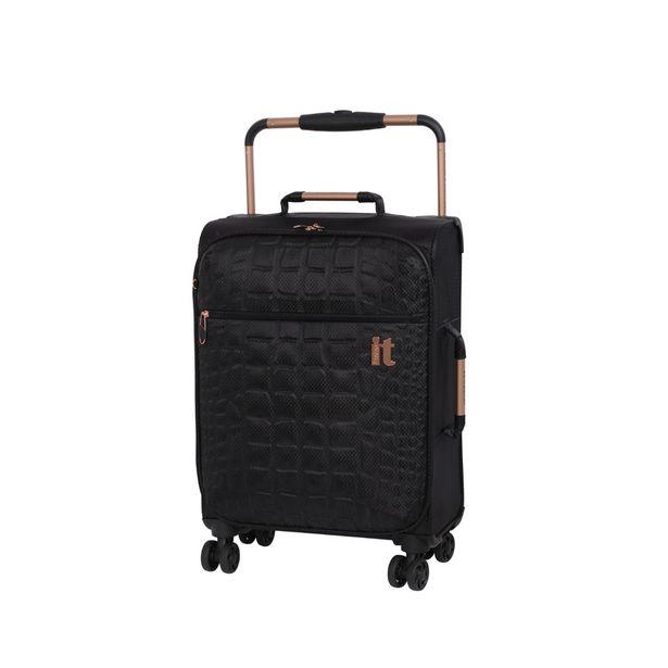 Valise cabine souple embossee offre à 34,99€