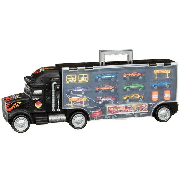 Camion remorque super voituresx9 offre à 14,99€