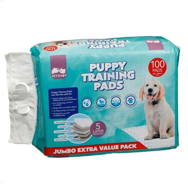 Tapis educateur x100 pour chiens offre à 15,99€