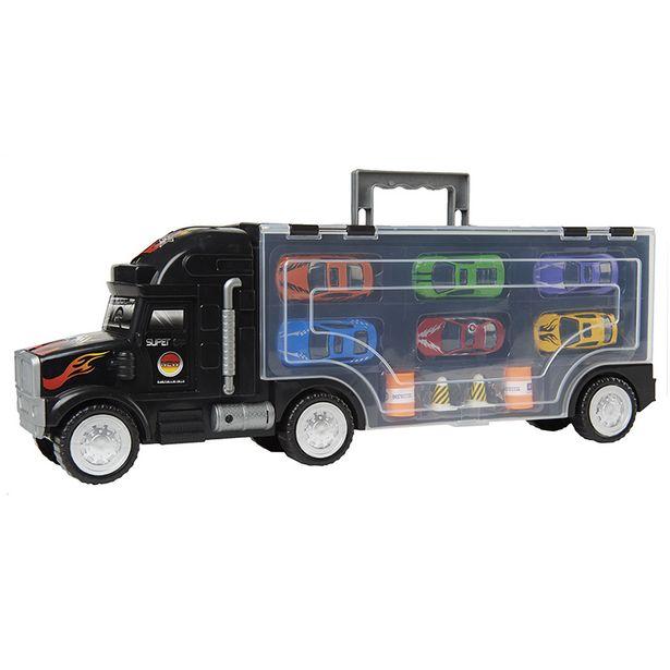 Camion remorque super voituresx6 offre à 9,99€