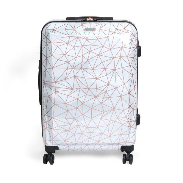 Valise abs geometrique 67cm offre à 49,99€