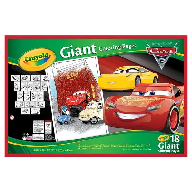 Set grand coloriage cars offre à 5,99€