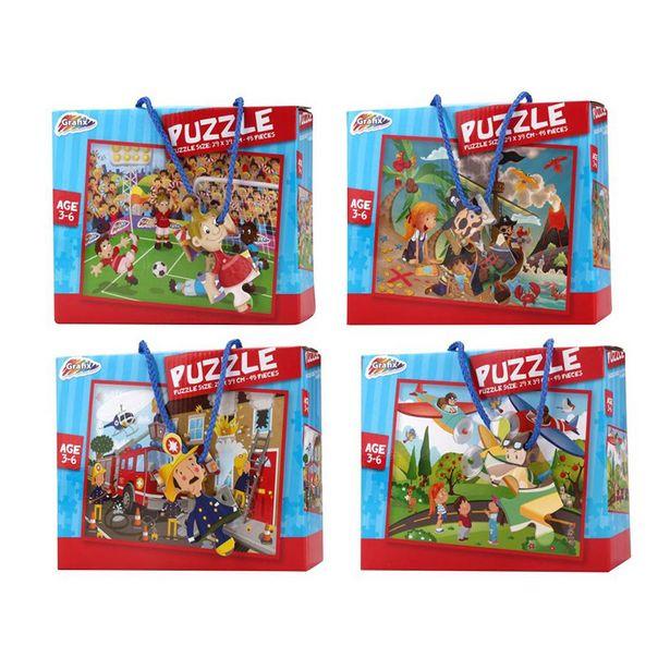 Puzzle 45 pieces 3-6 ans offre à 1,99€