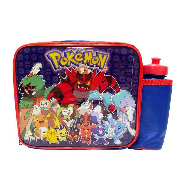 Lunch bag pokemon + gourde offre à 8,99€