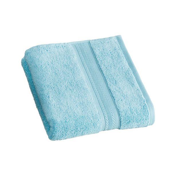 Serviette 50x90 aqua offre à 4,99€
