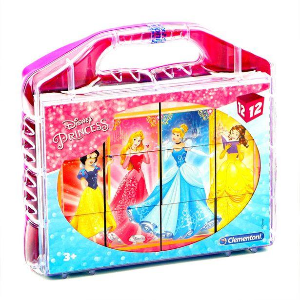 Puzzle cube princesse 12pcs offre à 7,99€