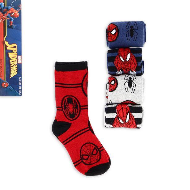 Lot 5 chaussettes spiderman offre à 1,49€
