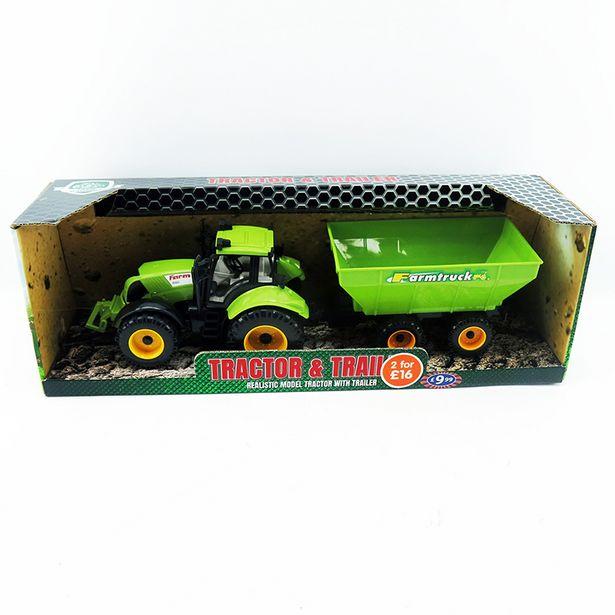 Tracteur avec remorque offre à 7,99€