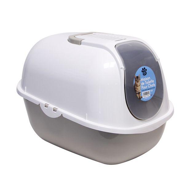 Maison de toilette pour chats offre à 9,99€
