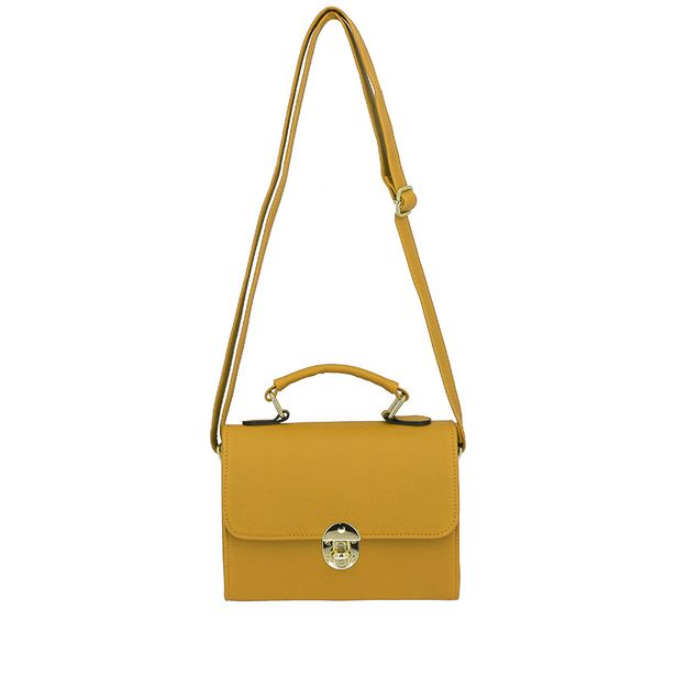 Sac a main clutch moutarde offre à 9,99€