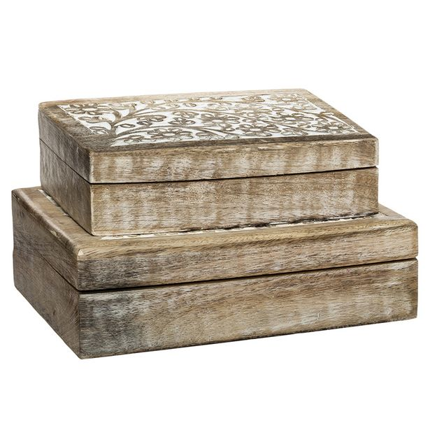 Boite rect bois ritual - m offre à 8,99€
