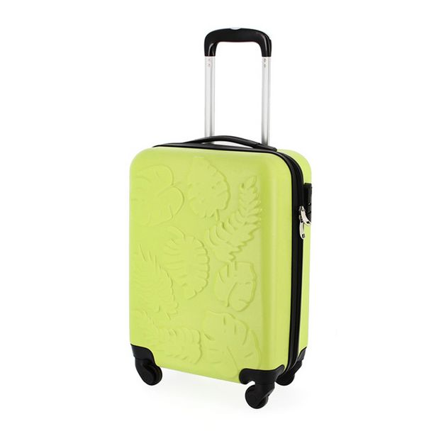 Valise cabine embossee - mint offre à 19,99€