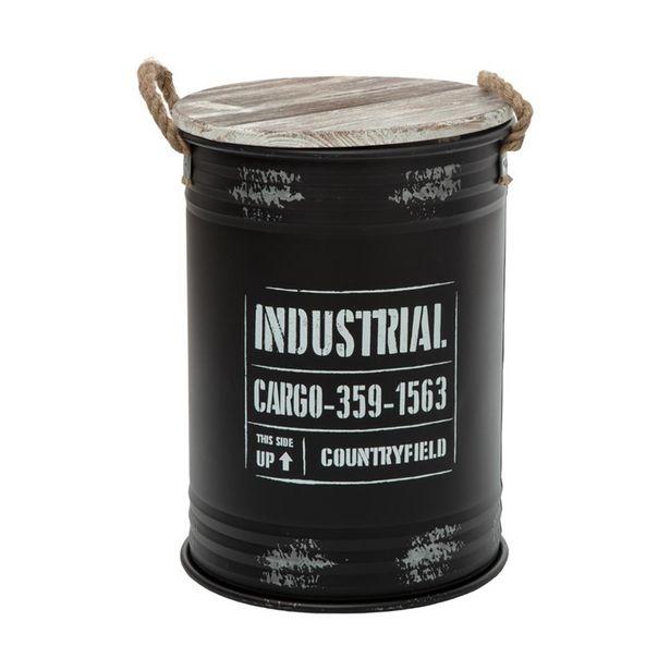 Coffre bidon noir industriel m offre à 29,99€