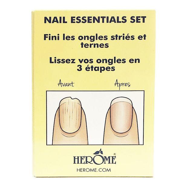 Set essentiel pour ongles abimés - coffret soin des ongles offre à 15€