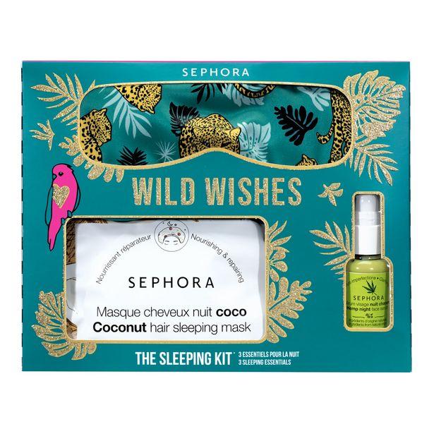 The sleeping kit* wild wishes - kit de 3 essentiels pour la nuit offre à 14,39€