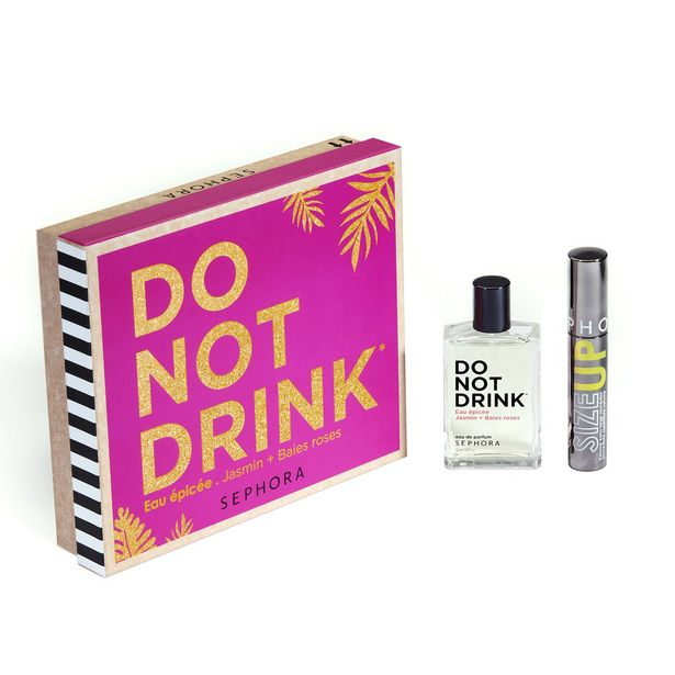 Do not drink* - coffret eau de parfum + maquillage offre à 29,99€