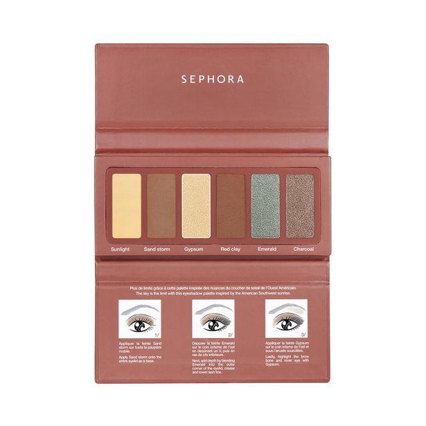 Palette yeux #eyestories - palette de 6 fards à paupières offre à 9,99€