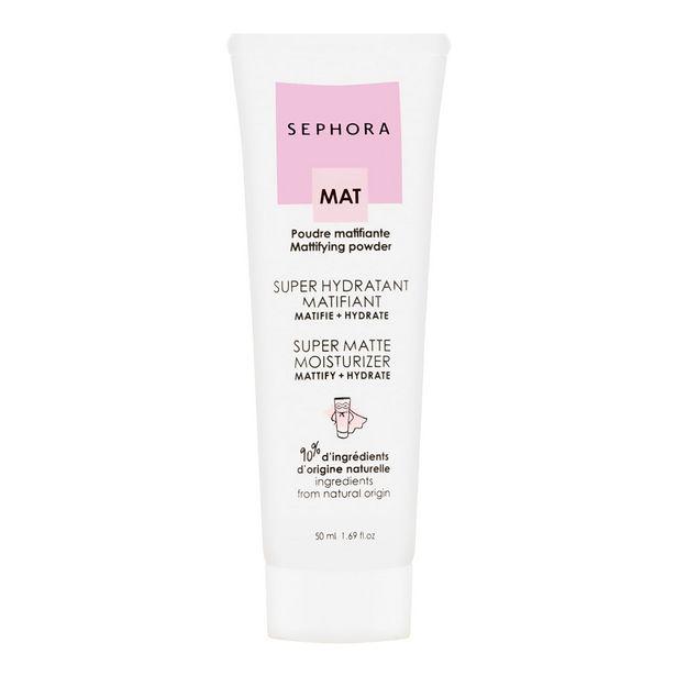 Super hydratant matifiant - crème matifiante et hydratante visage offre à 14,99€