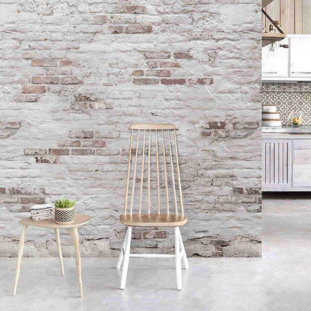 Papier peint panoramique Brick blanc et marron l.159 x H.... offre à 29,9€