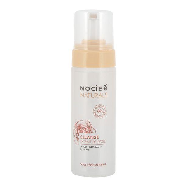 Nocibé Mousse nettoyante délicate Naturals¤Cleanse extrait de rose offre à 4,97€