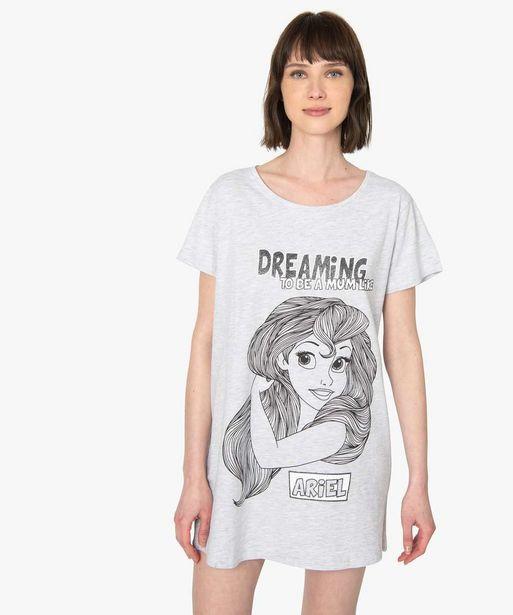 Chemise de nuit femme La petite Sirène - Disney offre à 10,49€