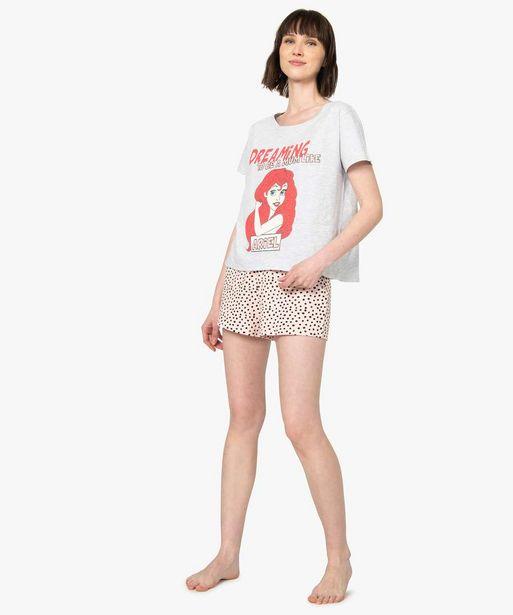 Pyjashort femme La petite Sirène - Disney offre à 12,59€