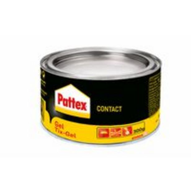 Pattex Contact Gel offre à 6,21€