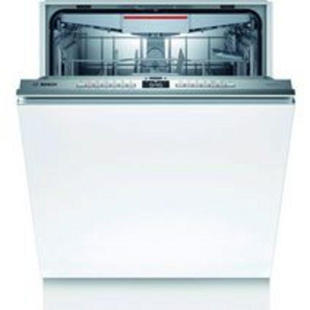 Lave-vaisselle full intégrable BOSCH 44 dB L.60 cm offre à 759€