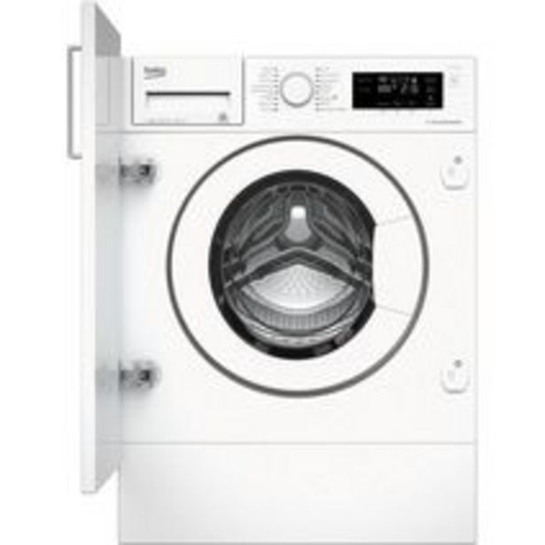 Lave-linge full intégrable BEKO offre à 611,9€