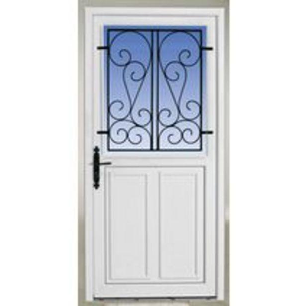 Porte d'entrée Guérande PVC offre à 629,1€