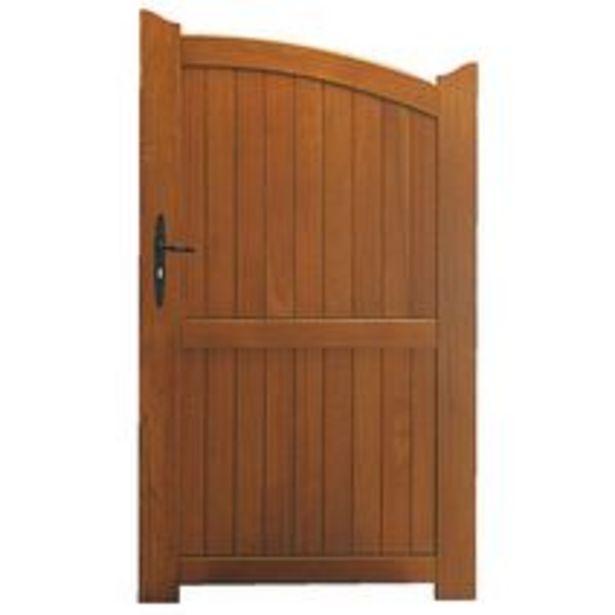 Portillon bois Fontanges quincaillerie réglable offre à 286,4€