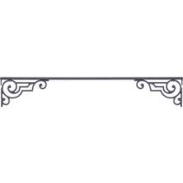 Appui de fenêtre Pernety avec motif latéral - Tableau offre à 120€