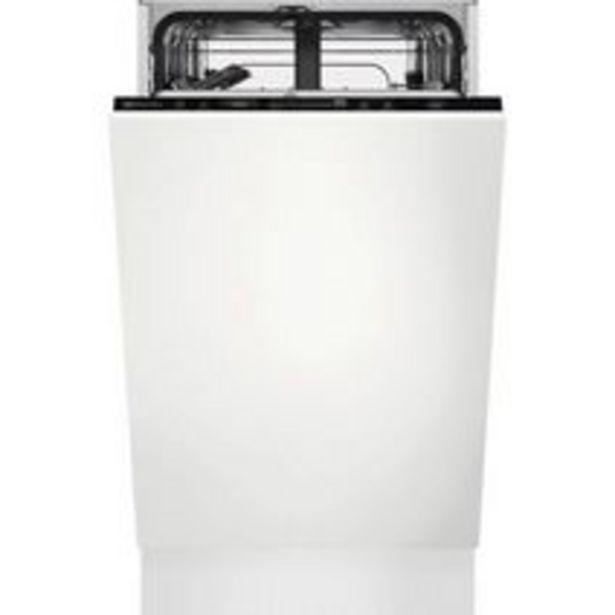 Lave-vaisselle intégrable ELECTROLUX 44dB L.45 cm offre à 630,1€
