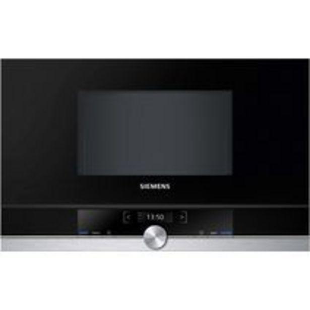 Four micro-ondes encastrable H.38 cm 21 L SIEMENS offre à 599€
