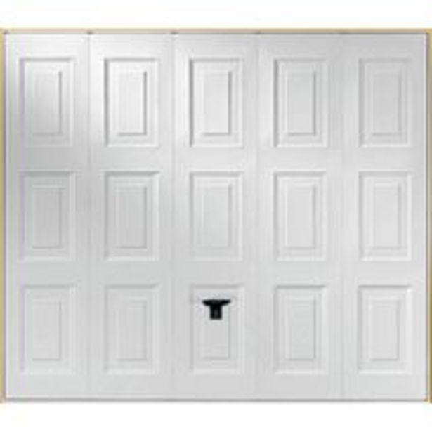 Porte de garage Ottawa basculante sans portillon offre à 509,15€