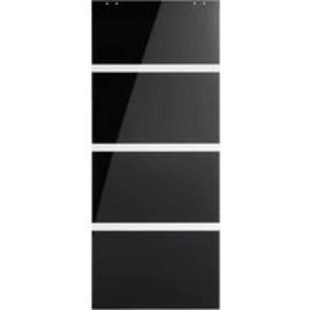 Porte coulissante verre Cosmos offre à 148,5€