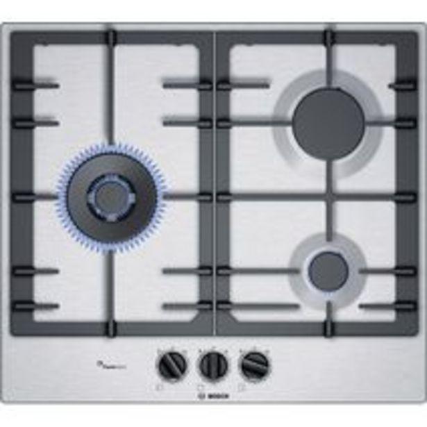 Table de cuisson gaz BOSCH en Inox offre à 349€