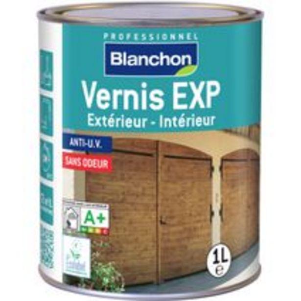 Vernis EXP incolore 1L offre à 22,9€