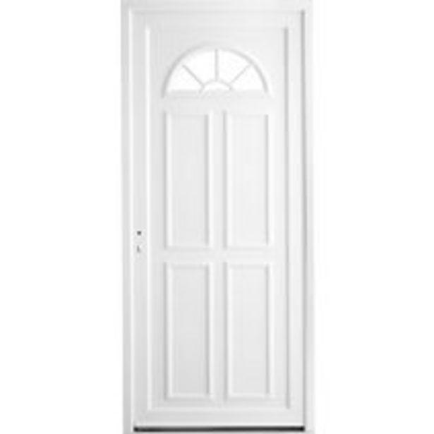 Porte d'entrée Dinan PVC offre à 499€