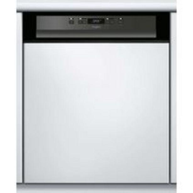 Lave-vaisselle intégrable WHIRLPOOL 46 dB L.60 cm offre à 567,1€