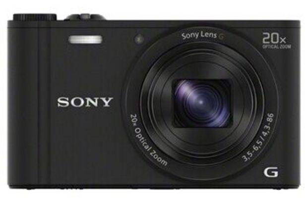 Appareil photo compact DSC-WX350 NOIR Sony offre à 179,99€