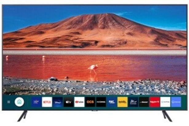 TV LED UE65TU7125 2020 Samsung offre à 699,99€