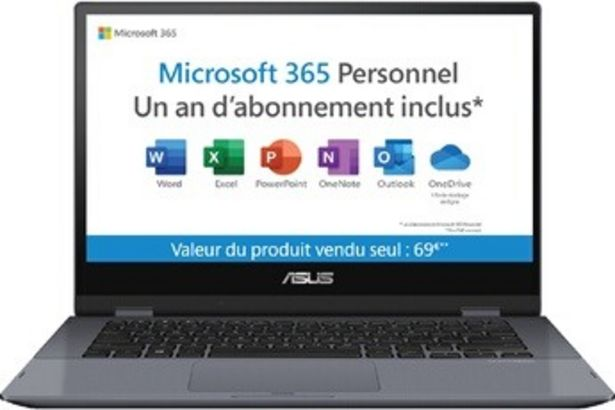 PC portable Vivobook Flip TP412FA-EC363TS Asus offre à 469,99€
