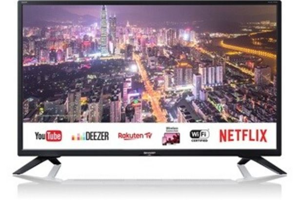 TV LED 32BC4E Sharp offre à 199,99€