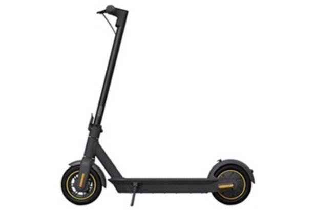 Trottinette électrique Ninebot max g30 portable pliant scooter électrique 350w moteur vitesse maximum 30 kmh 15.3ah batterie - noir Ninebot offre à 648,99€